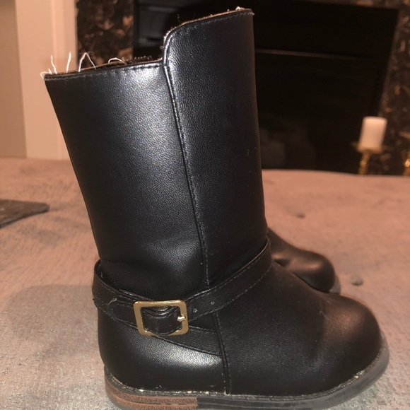 NWT Gymboree Baby Toddler Girl BACK TO BLOOMS Brown Riding Boots